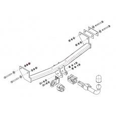Tažné zařízení Jeep Compass r.v. 06 - >