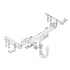 Tažné zařízení Subaru Legacy 4 dv. r.v. 09/09 - >