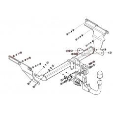 Tažné zařízení Subaru Trezia r.v. 2011 - >