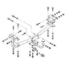 Tažné zařízení Seat Toledo r.v. 91 - 03/99
