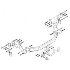 Tažné zařízení Hyundai H1 / H300 r.v. 2008 - >
