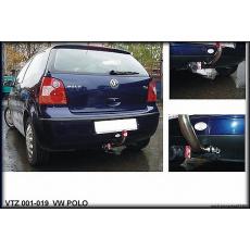 Tažné zařízení VW Polo hatchback 9N type 3 i 5 dv. r.v. 02/2002 - 06/2007