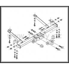Tažné zařízení Renault Trafic r.v. 05/2001 - 04/2014