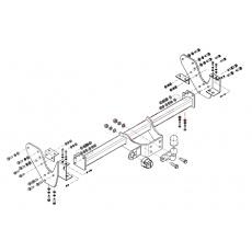 Tažné zařízení Isuzu D-Max Pick Up 4x4 r.v. 07 ->