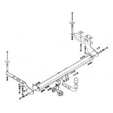 Tažné zařízení Subaru Forester r.v. 97 - 08 ne pro 2,0 S-Turbo