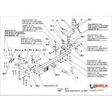 Tažné zařízení Toyota Corolla Verso r.v. 04/04 - >
