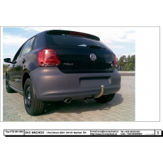 Tažné zařízení VW Polo hatchback 3 i 5 dv. 6R Typ r.v. 07/2009 ->