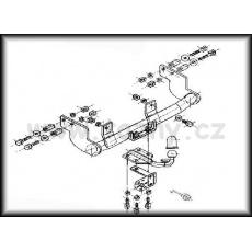 Tažné zařízení Citroen Saxo 3 i 5dv. r.v. 1995 - 2003
