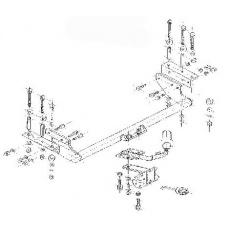 Tažné zařízení Daewoo Nubira II. 4 dv. r.v. 02/98 - >
