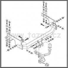 Tažné zařízení Lancia Musa 5dv. r.v. 2004 - >