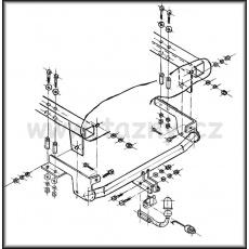 Tažné zařízení Fiat Punto II. 3 i 5 dv. r.v. 06/03 - 09/06