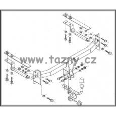 Tažné zařízení Mazda 626 combi r.v. 03/1998 - 06/2002