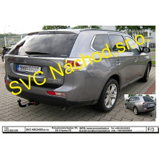 Tažné zařízení Mitsubishi Outlander r.v. 09/12 - >