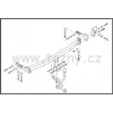 Tažné zařízení Nissan Almera (N16) 3 i 5 dv. r.v. 03/00 - >
