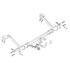 Tažné zařízení Peugeot Partner r.v. 07/08 - > verze 4628mm