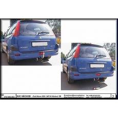 Tažné zařízení Peugeot 206 SW, combi r.v. 2002 - 2007