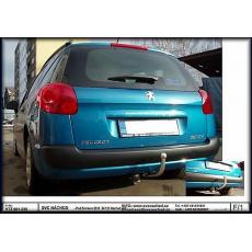 Tažné zařízení Peugeot 207 SW, combi + Outdoor r.v. 2007 - 2014