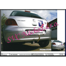 Tažné zařízení Peugeot 307 r.v. 2001 - 2008