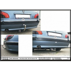 Tažné zařízení Peugeot 406 combi r.v. 1996 -2004