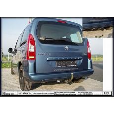 Tažné zařízení Peugeot Tepee prodloužená verze r.v. 04/08 ->