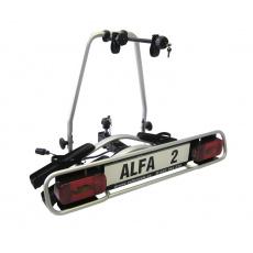 Nosič kol na tažné zařízení Alfa Plus 2 hliníkový