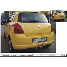 Tažné zařízení Suzuki Swift hatchback ne 4x4 r.v. 05/05 ->