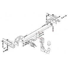 Tažné zařízení Subaru Forester r.v. 01/08 - 02/13