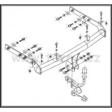 Tažné zařízení Seat Alhambra r.v. 95 - 04/00