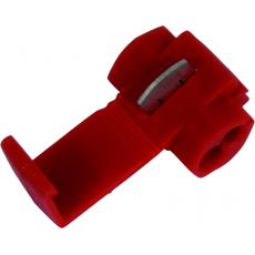 Kabelová odbočka červená 10 kusů