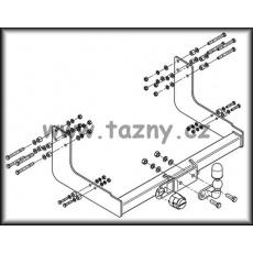 Tažné zařízení mercedes Sprinter r.v. 95 -> 06 van se schůdkem