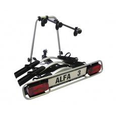 Nosič kol na tažné zařízení Alfa Plus 3 hliníkový