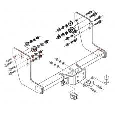 Tažné zařízení Iveco Daily 50C13 r.v. 05/99 - >
