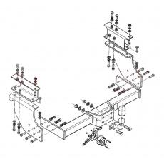 Tažné zařízení Iveco Daily 50C, 30C r.v. 05/99 - 05
