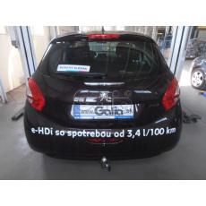 Tažné zařízení Peugeot 208 r.v. 2012 - 2019