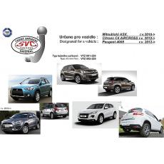 Tažné zařízení Peugeot 4008 r.v. 2012 - 2016