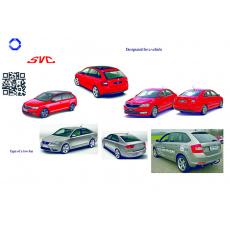 Tažné zařízení Škoda Rapid Spaceback r.v. 2013 - >