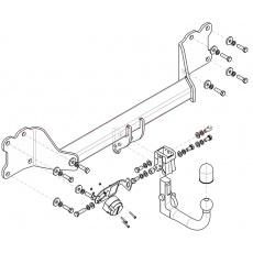 Tažné zařízení Audi Q7, r. v. 2015 - >
