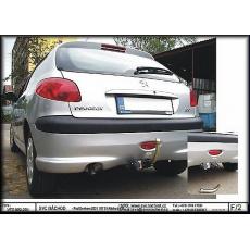 Tažné zařízení Peugeot 206 pro SX r.v. 1998 - 03/2003 a 04/2003 - 2009