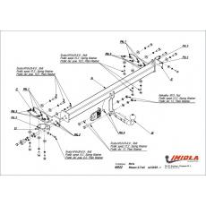Tažné zařízení Nissan X-Trail r.v. 09/01 - 06/07