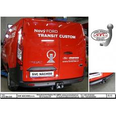 Tažné zařízení Ford Transit Custom r.v. 2013 - >