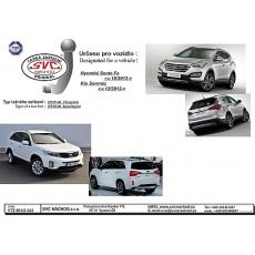 Tažné zařízení Hyundai Santa Fe (DM), r. v. 10/2012 - 2018