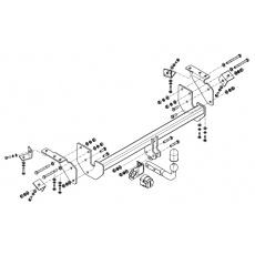 Tažné zařízení Mitsubishi ASX r.v. 02/10 - >