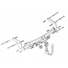 Tažné zařízení Renault Captur r.v. 2013 - >