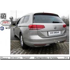 Tažné zařízení VW Passat B8 sedan r.v. 08/2014  - > i 4x4