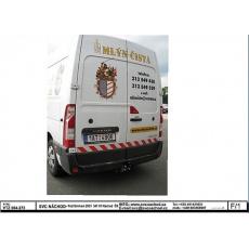 Tažné zařízení Opel Movano r.v. 04/2010 - >