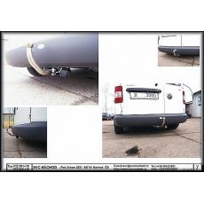Tažné zařízení VW Caddy r.v.2004 - 2015 ne 4x4