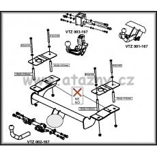 Tažné zařízení Opel Signum r.v. 05/03 ->