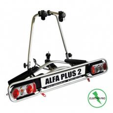 Nosič kol na tažné zařízení Alfa Plus 2 ELEKTRO