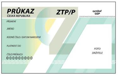 Sleva pro držitele karet ZTP, ZTP/P