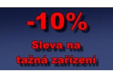Sleva na tažná zařízení 10%